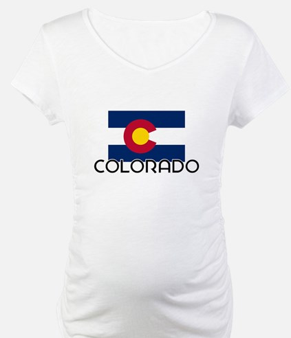I HEART COLORADO FLAG Shirt