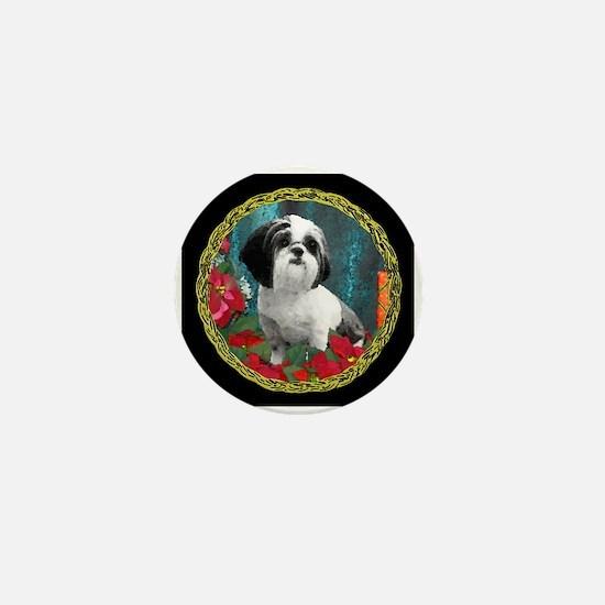 Shih Tzu Valentine China Mini Button