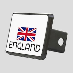 I HEART ENGLAND FLAG Hitch Cover