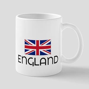 I HEART ENGLAND FLAG Mug