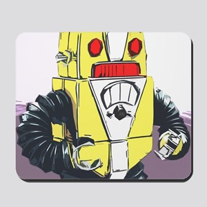 Retro Bot Mousepad