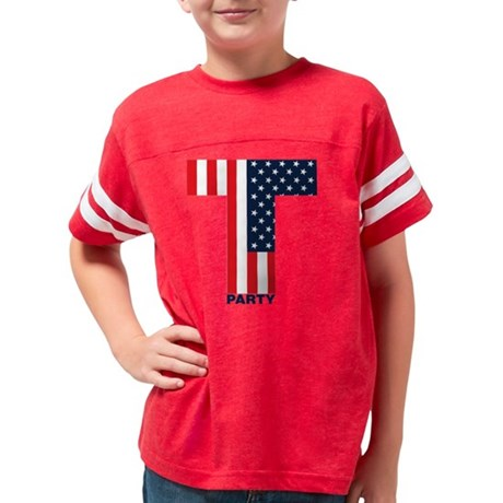Tparty Youth Football Shirt