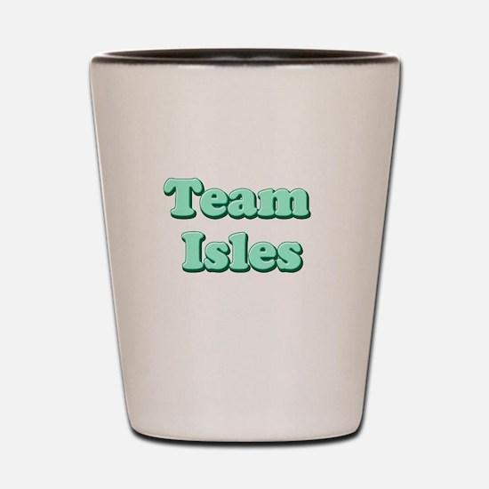 Team Isles Shot Glass