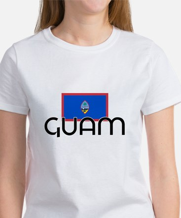 I HEART GUAM FLAG T-Shirt