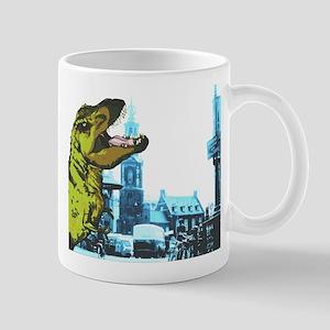Trex in the city Mug