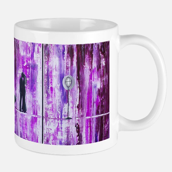 Purple Rain Romance Mug