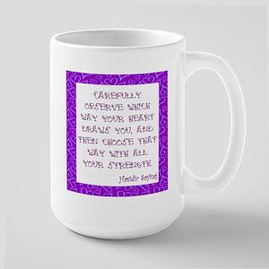 Large Inspirational Ceramic Mug