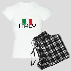 I HEART ITALY FLAG Pajamas