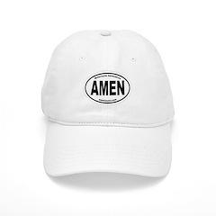 AmenOval Baseball Baseball Cap