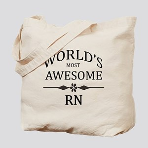 World's Most Awesome RN Tote Bag