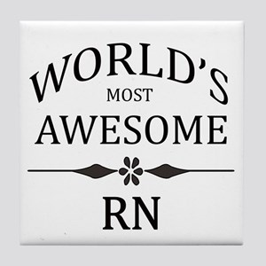 World's Most Awesome RN Tile Coaster