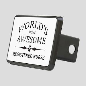World's Most Awesome Registered Nurse Rectangular