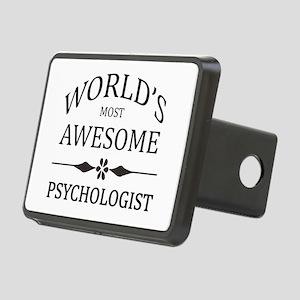 World's Most Awesome Psychologist Rectangular Hitc