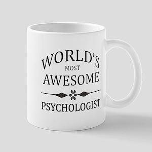 World's Most Awesome Psychologist Mug