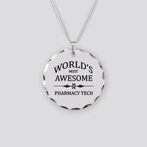 World's Most Awesome Pharmacy Tech Necklace Circle