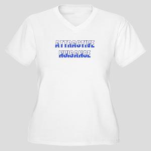 Attractive Nuisance (Blue) Plus Size T-Shirt