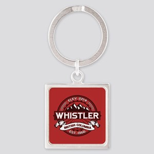 Whistler Red Keychains