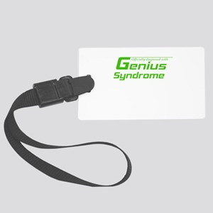 Genius Syndrome Large Luggage Tag