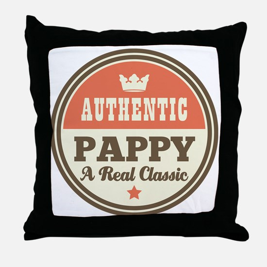 Classic Pappy Throw Pillow