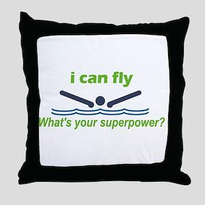 iFly Throw Pillow