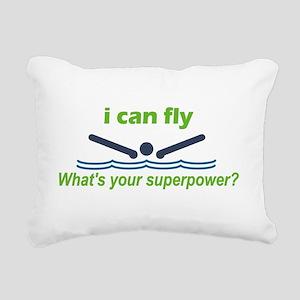 iFly Rectangular Canvas Pillow
