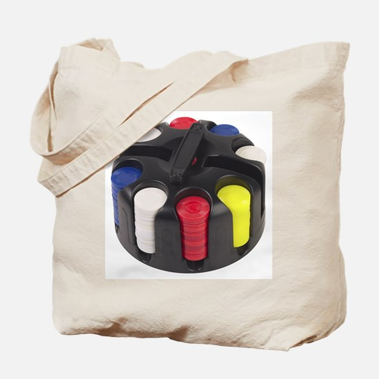 Poker Chips Tote Bag