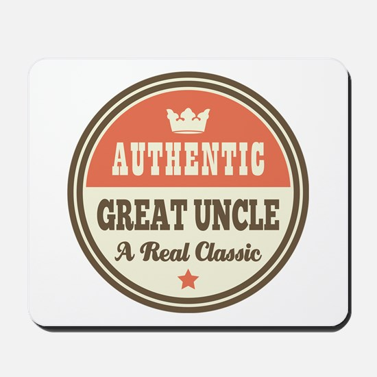 Classic Great Uncle Mousepad