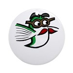 Tinas Disguise Ornament (Round)