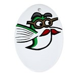Tinas Disguise Ornament (Oval)