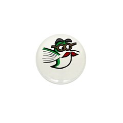 Tinas Disguise Mini Button (10 pack)