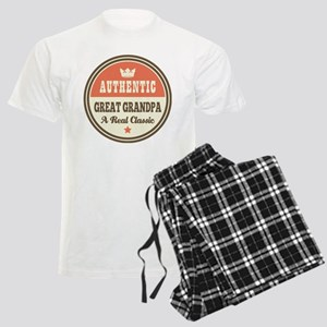 Classic Great Grandpa Men's Light Pajamas