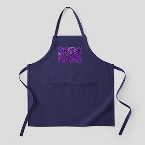 Extra Wild Paisley Purple Apron (dark)