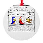 Hide the Children! Ornament