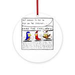 Hide the Children! Ornament (Round)