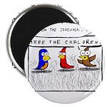 Hide the Children! Magnet