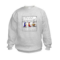 Hide the Children! Sweatshirt