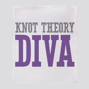 Knot Theory DIVA Throw Blanket