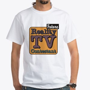Future Reality TV Contestant White T-Shirt
