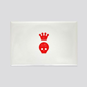 Hollow Crown Rectangle Magnet