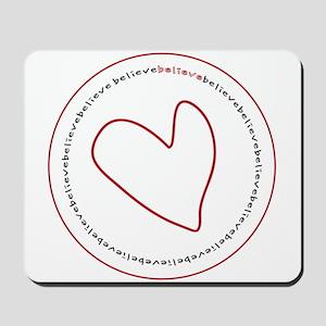 Believe Logo Mousepad