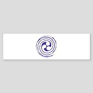 Triskelion Bumper Sticker