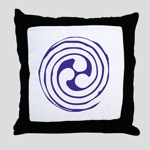 Triskelion Throw Pillow