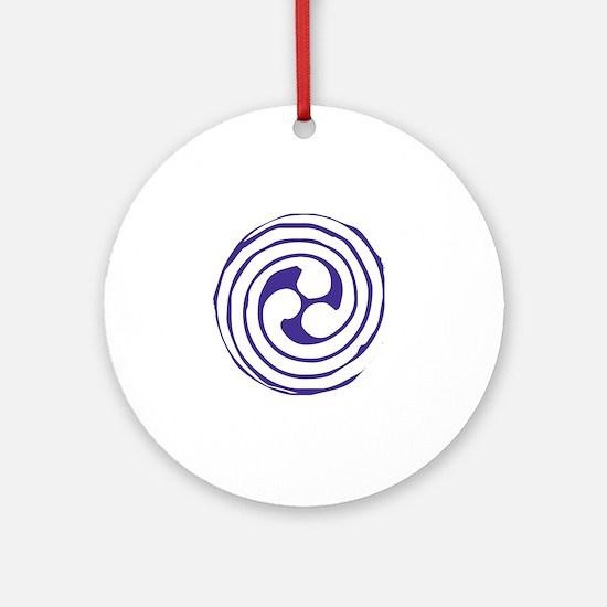 Triskelion Ornament (Round)