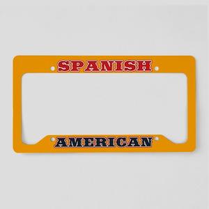 Spanish American Bull License Plate Holder