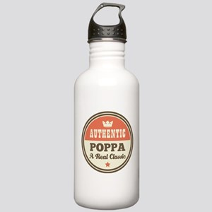 Classic Poppa Stainless Water Bottle 1.0L