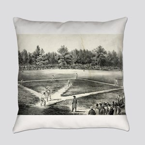 The American national game of base ball - 1866 Eve