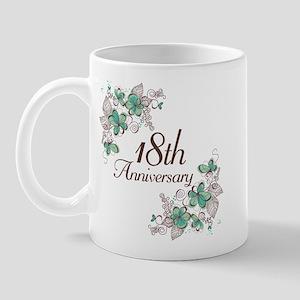 18th Anniversary Keepsake Mug