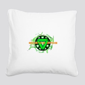 Science Bros Square Canvas Pillow