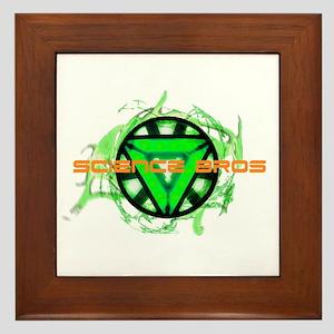 Science Bros Framed Tile
