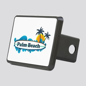 Palm Beach - Surf Design. Rectangular Hitch Cover